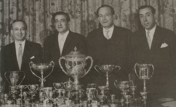 Crockfords Winners 1958